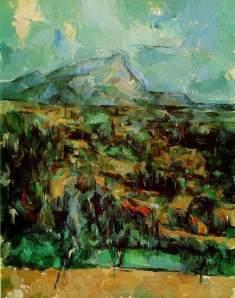 Cezanne Mont Sainte Victoire