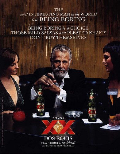 Interesting Man In The World The Story Behind The Most Interesting