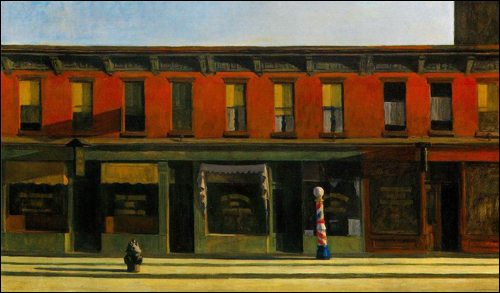 Sunday Morning Edward Hopper