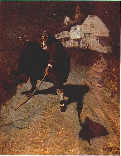 NC Wyeth Blind Pew