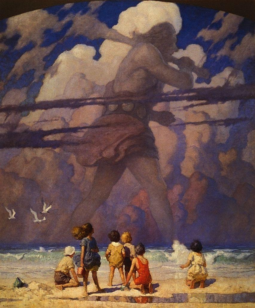 NC Wyeth The Giant