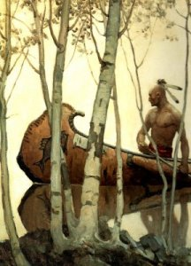 NC Wyeth Last of the Mohicans