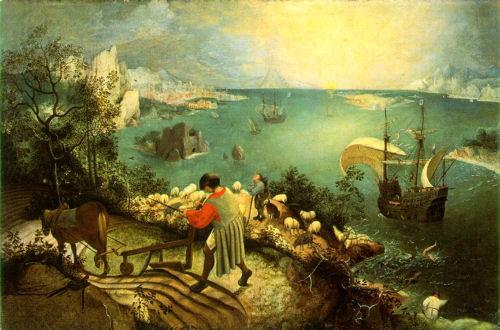 brueghel fall of icarus