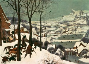 brueghel_hunters in the snow
