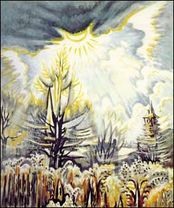 Charles Burchfield_sun_emerging