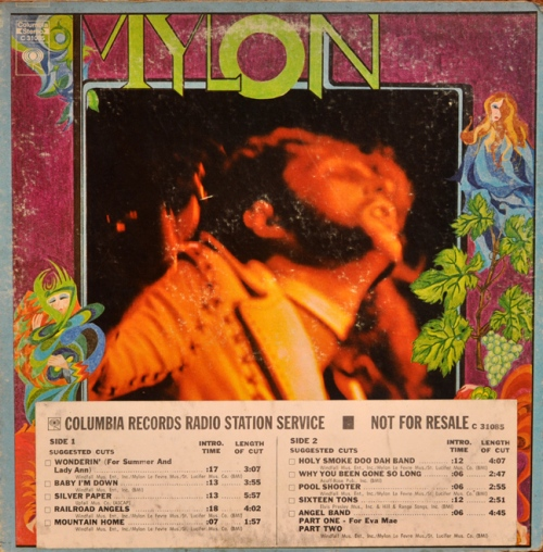 Mylon LP Cover