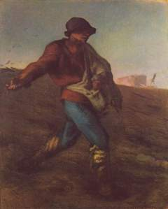 Millet-  The Sower