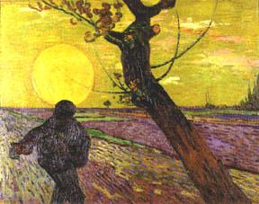 Millett's Sower Van Gogh