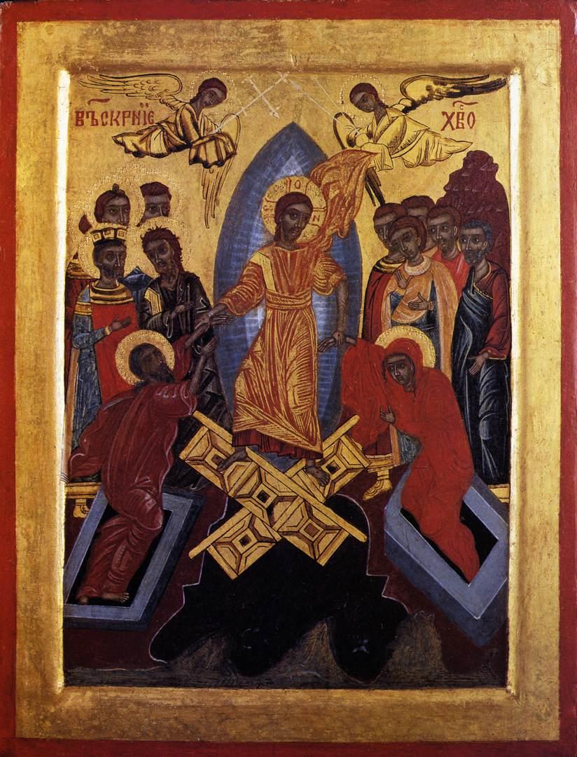 Resurrection Icon   Redtree Times Russian Resurrection Icon