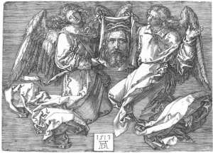 Albrecht Durer- Sudarium Displayed by Two Angels