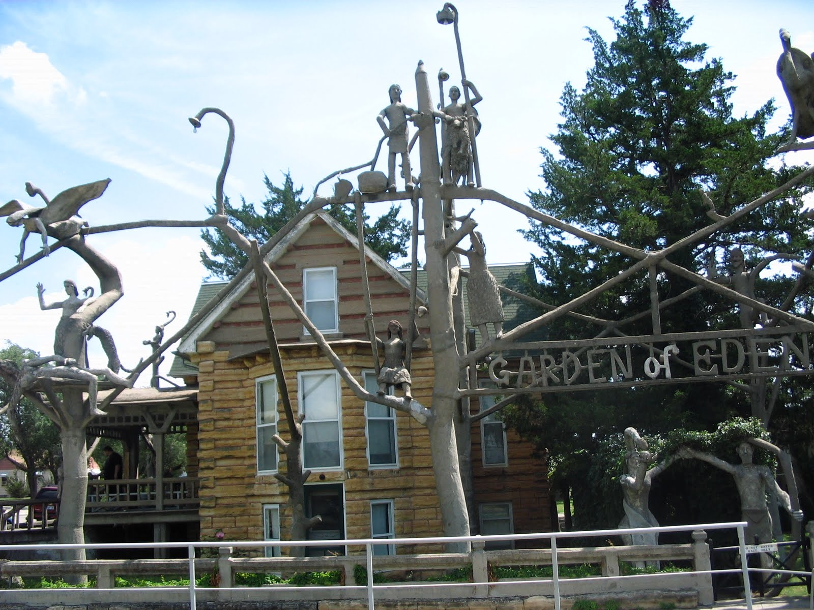 one of my favorites is the garden of eden - Garden Of Eden Kansas