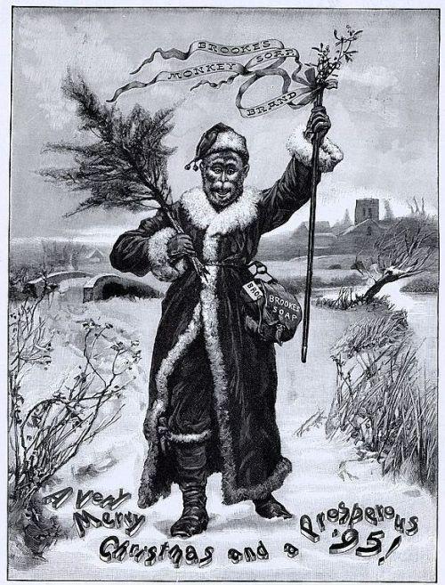 Monkey Soap Christmas 1895