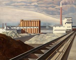 Charles Sheeler Classic Landscape