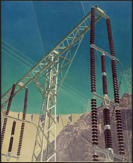Charles Sheeler Conversation Sky and Earth