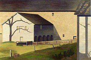 Charles Sheeler Shaker Barn
