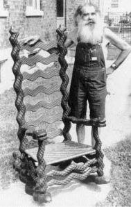 Chester Cornett Snake Chair