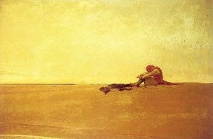 Howard Pyle-  Marooned Pirate