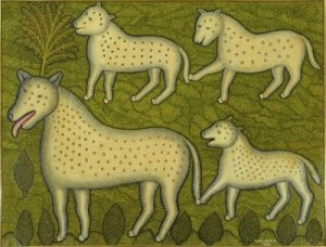 Morris Hirshfield Dogs and Pups