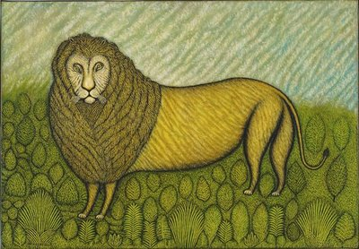 Morris Hirshfield Lion 1939