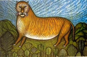 Morris Hirshfield Tiger