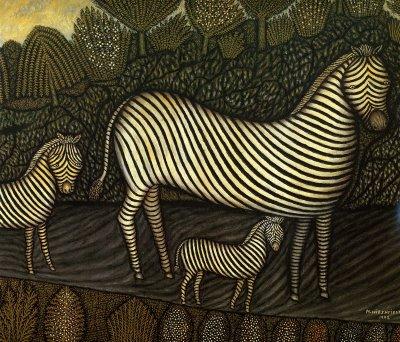 Morris Hirshfield Zebras