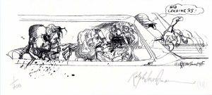 Ralph Steadman -Bad Craziness