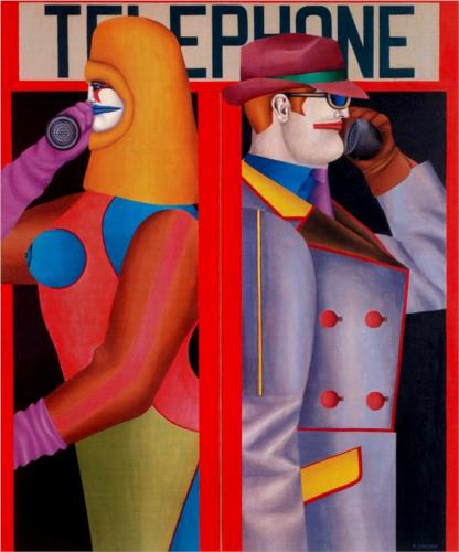 Richard Lindner Telephone