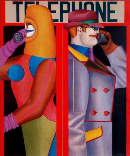 Richard Lindner Telephone