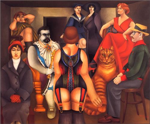 Richard Lindner The Meeting