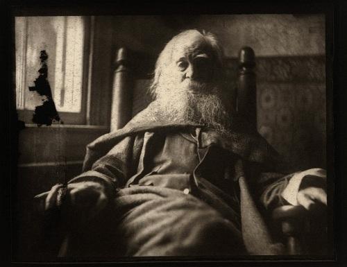 Walt Whitman-  Thomas Eakins 1891