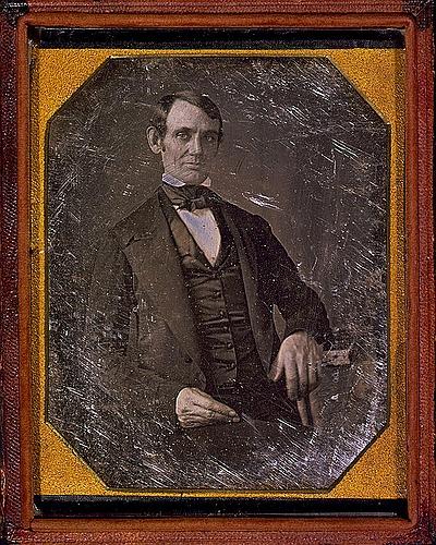 Abraham  Lincoln-attributed to Nicholas H Shepherd