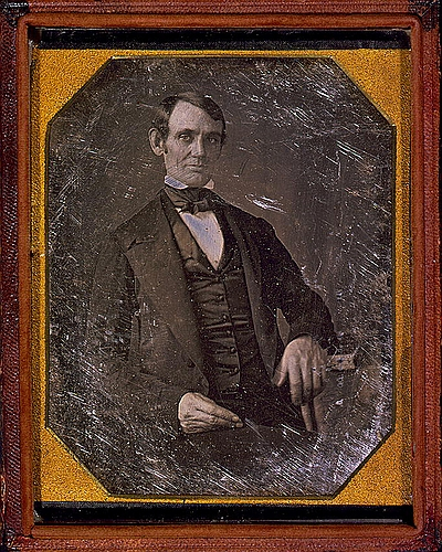 Abraham  Lincoln-attributed to Nicholas H Shepherd
