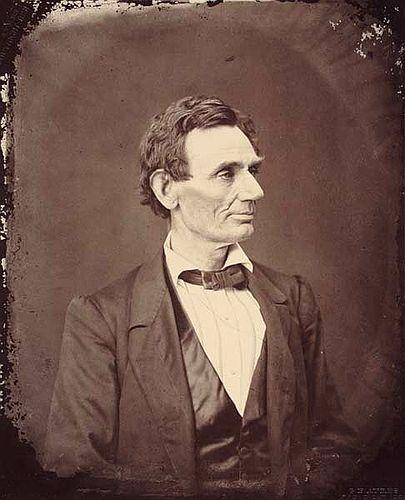 Abraham Lincoln George Ayres 1861