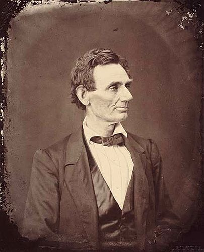 Abraham Lincoln George Ayres 1861