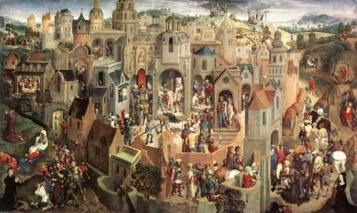 Hans Memling- Scenes from the Passion of Christ