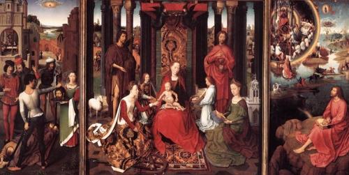 Hans Memling- St John Altarpiece