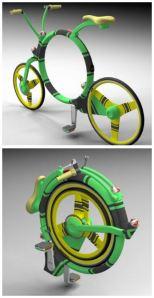Locust Folding Bicycle Desined by Josef Cadek