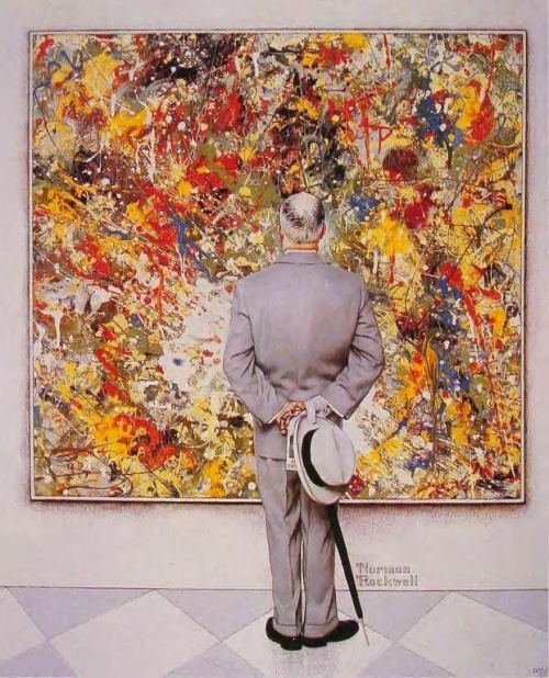 Norman Rockwell- The Art Critic