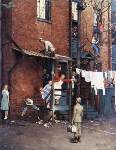 Norman Rockwell- The Homecoming