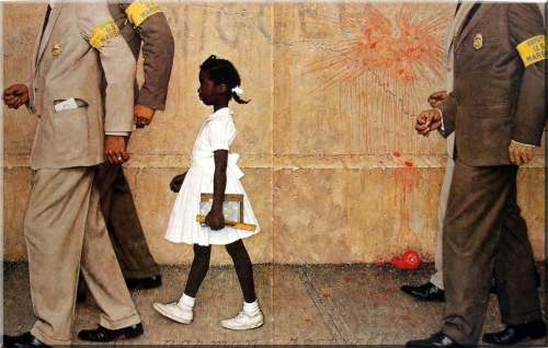 Norman Rockwell- The Problem We All Live With