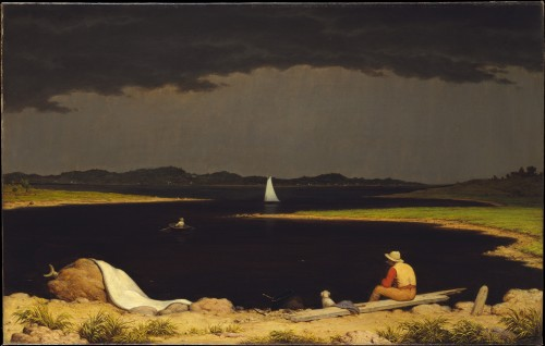 Martin Johnson Heade Approaching Thunderstorm 1