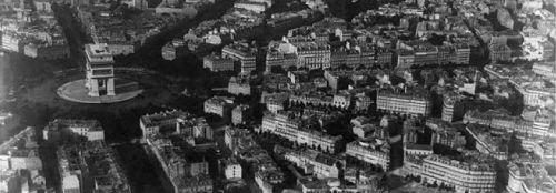 Nadar Aerial View of Paris 1867