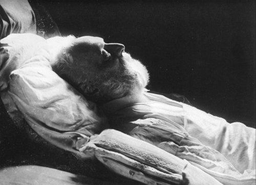 Nadar Death Portrait of Victor Hugo
