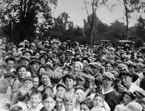 Babe Ruth Syracuse NY Aug  1922