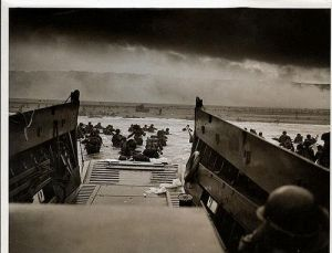 Taxis to hell- and back- into the Jaws of Death  Robt. F Sargent, USCG Photo 1944