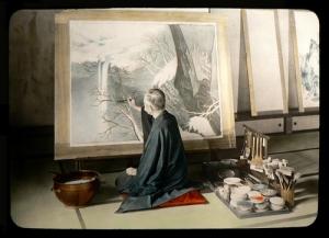 Artist in Japan by T. Enami ca 1915-1928
