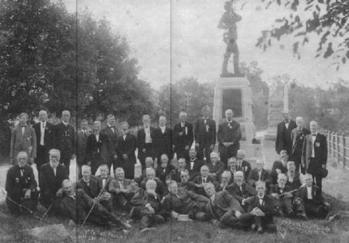 11th PA Volunteers with Sallie among them 1910