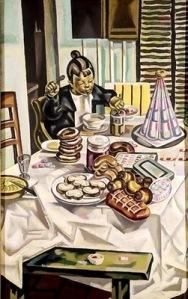 Maria Blanchard-Enfant aux pâtisseries1924