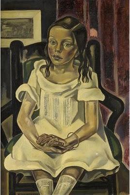 Maria Blanchard-L'Enfant au Bracelet (1922-23)