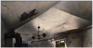Andrew Wyeth -Mother Archie's Church 1945